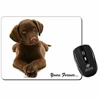 Chocolate Labrador Dog Love Computer Mouse Mat Birthday Gift Idea