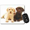 Labrador Puppy Dogs Computer Mouse Mat Christmas Gift Idea