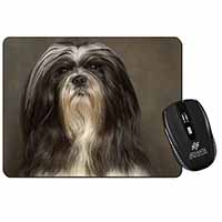 Lhasa Apso Dog Computer Mouse Mat Birthday Gift Idea