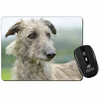 Rough Coated Lurcher Computer Mouse Mat Birthday Gift Idea
