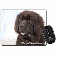 Newfoundland Dog-With Love Computer Mouse Mat Birthday Gift Idea