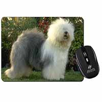 Old English Sheepdog Computer Mouse Mat Christmas Gift Idea