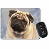 Fawn Pug Dog Computer Mouse Mat Christmas Gift Idea
