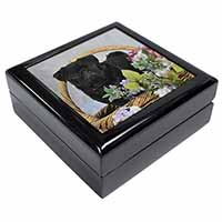 Black Pug Dog Keepsake/Jewel Box Birthday Gift Idea