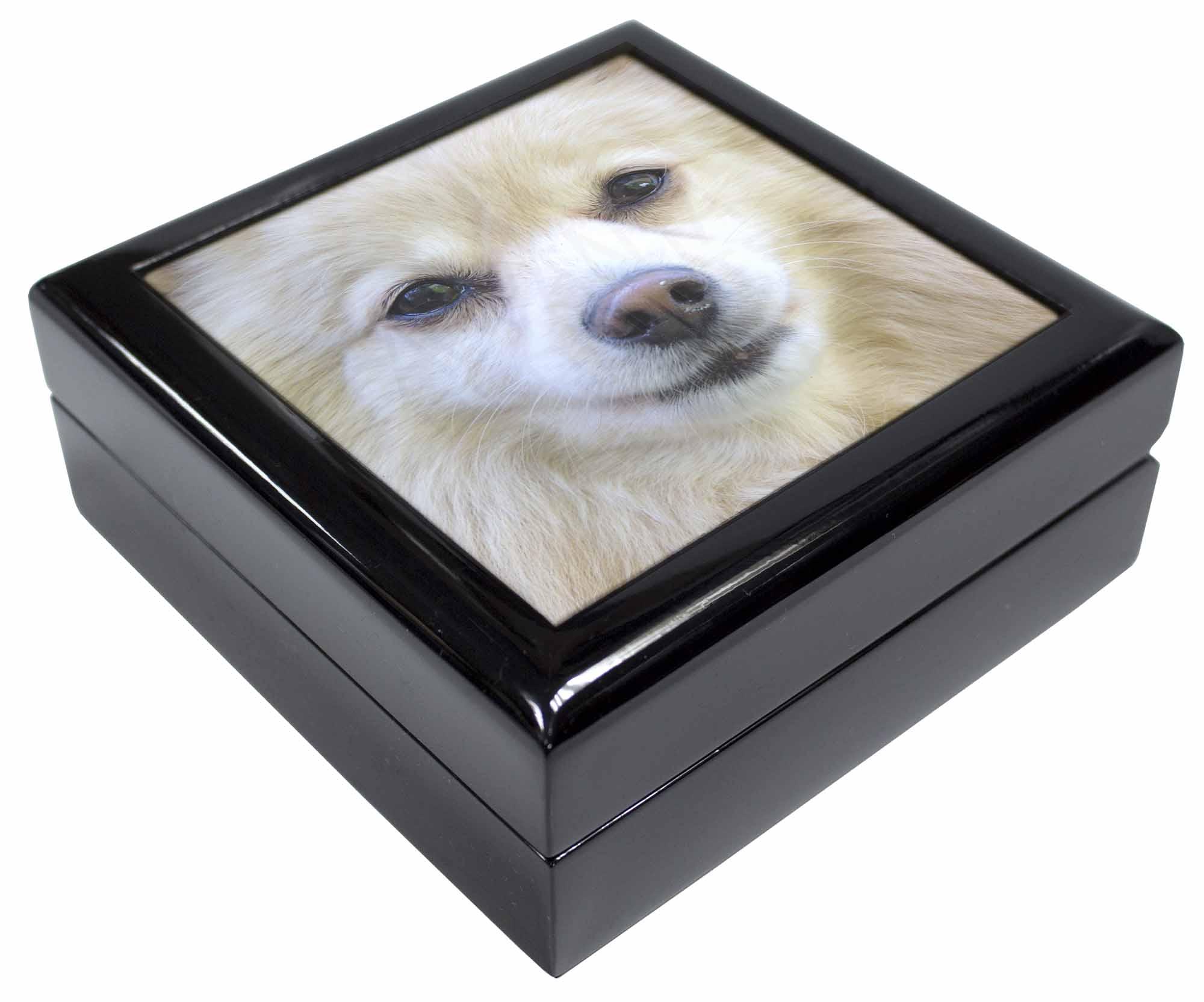 japanische spitz hund andenken schmuck k stchen. Black Bedroom Furniture Sets. Home Design Ideas