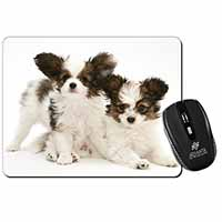 Papillon Dogs Computer Mouse Mat Birthday Gift Idea