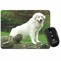 Pyrenean Mountain Dog Computer Mouse Mat Birthday Gift Idea
