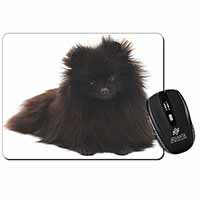 Black Pomeranian Dog Computer Mouse Mat Birthday Gift Idea