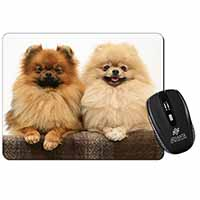 Pomeranian Dogs Computer Mouse Mat Birthday Gift Idea