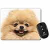 Cream Pomeranian Dog Computer Mouse Mat Christmas Gift Idea