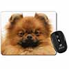 Pomeranian Dog Computer Mouse Mat Christmas Gift Idea