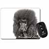 Black Poodle-With Love Computer Mouse Mat Christmas Gift Idea