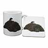 Miniature Poodle Dog Mug+Coaster Christmas/Birthday Gift Idea