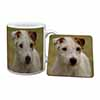 Parson Russell Terrier Dog Mug+Coaster Christmas/Birthday Gift Idea