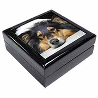 Tri-Colour Rough Collie Dog Keepsake/Jewellery Box Birthday Gift Idea