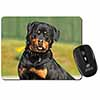 Rottweiler Dog Computer Mouse Mat Christmas Gift Idea