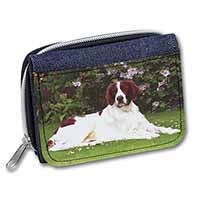 English Setter Dog Girls/Ladies Denim Purse Wallet Birthday Gift Idea
