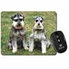Schnauzer Dogs Computer Mouse Mat Christmas Gift Idea
