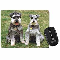 Schnauzer Dogs Computer Mouse Mat Birthday Gift Idea