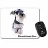 Schnauzer Dog-Love Computer Mouse Mat Christmas Gift Idea