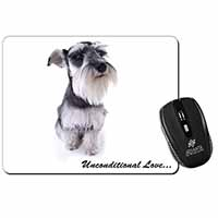 Schnauzer Dog-Love Computer Mouse Mat Birthday Gift Idea