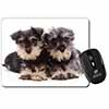 Miniature Schnauzer Dogs Computer Mouse Mat Christmas Gift Idea