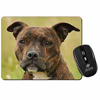 Staffordshire Bull Terrier Dog Computer Mouse Mat Birthday Gift Idea