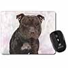 Staffordshire Bull Terrier Computer Mouse Mat Christmas Gift Idea