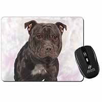 Staffordshire Bull Terrier Computer Mouse Mat Birthday Gift Idea