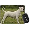 American Staffordshire Bull Terrier Dog Computer Mouse Mat Christmas Gift Idea