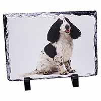 Cocker Spaniel Dog Photo Slate Photo Ornament Gift