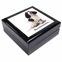 Cocker Spaniel With Love Keepsake/Jewel Box Birthday Gift Idea