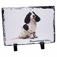 Cocker Spaniel With Love Photo Slate Christmas Gift Idea