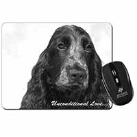 Cocker Spaniels with Love Computer Mouse Mat Birthday Gift Idea