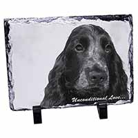 Cocker Spaniels with Love Photo Slate Photo Ornament Gift