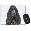 Blue Roan Cocker Spaniel Dog Computer Mouse Mat Christmas Gift Idea