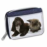 Cocker Spaniel Dog Girls/Ladies Denim Purse Wallet Birthday Gift Idea