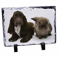 Cocker Spaniel Dog Photo Slate Christmas Gift Idea