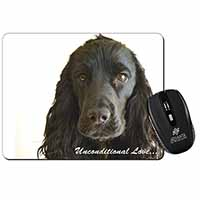 Cocker Spaniel-With Love Computer Mouse Mat Birthday Gift Idea