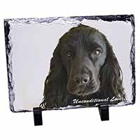 Cocker Spaniel-With Love Photo Slate Photo Ornament Gift