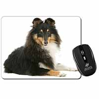 Tri-Col Sheltie Dog Computer Mouse Mat Birthday Gift Idea