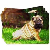 Cute Shar-Pei Dog Picture Placemats in Gift Box