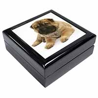 Bear Coated Shar-Pei Puppy Dog Keepsake/Jewel Box Birthday Gift Idea