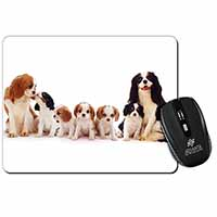 King Charles Spaniel Dogs Computer Mouse Mat Birthday Gift Idea