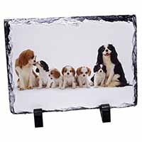 King Charles Spaniel Dogs Photo Slate Photo Ornament Gift