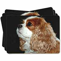 Blenheim King Charles Spaniel Picture Placemats in Gift Box