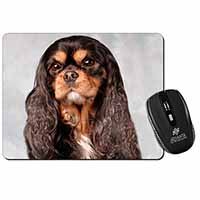 Black and Tan King Charles Spaniel Computer Mouse Mat Birthday Gift Idea