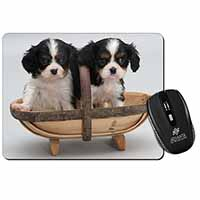 King Charles Spaniel Puppy Dogs Computer Mouse Mat Birthday Gift Idea