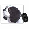 Tri-Colour King Charles Spaniel Dog Computer Mouse Mat Christmas Gift Idea