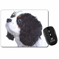 Tri-Colour King Charles Spaniel Dog Computer Mouse Mat Birthday Gift Idea